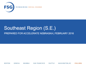 Accelerate Nebraska FSG Southeast Report